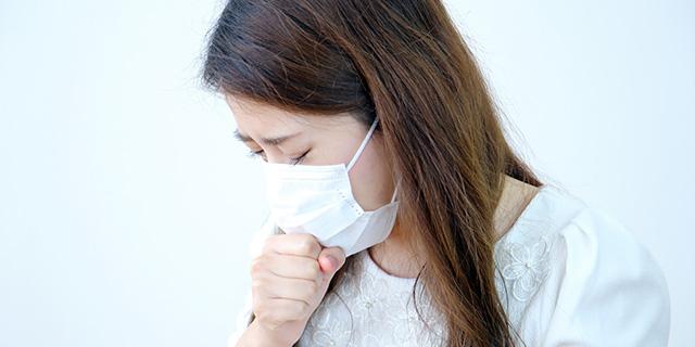 咳喘息の症状