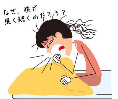 なぜ、咳が長く続くの?